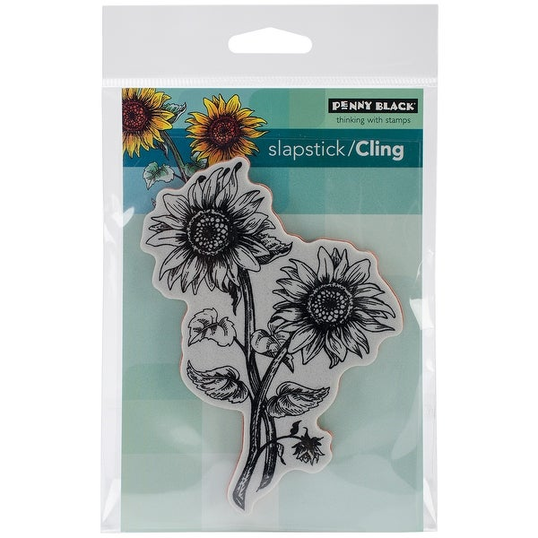 """Penny Black Cling Stamp 4""""X6""""-Sunny Pair"""