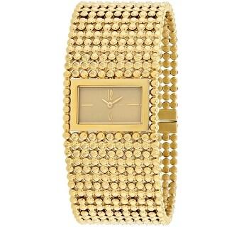Roberto Bianci Women's Verona RB90841 Gold Dial watch