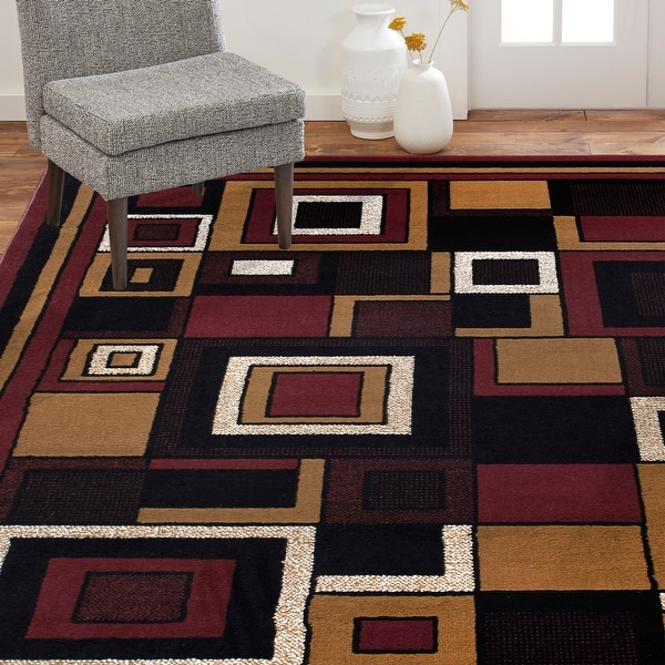 Home Dynamix Premium Nikola Contemporary Geometric Area Rug. Opens flyout.