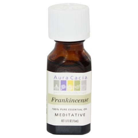 Aura Cacia - Essential Oil Meditative Frankincense - 0.5 fl. oz.