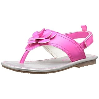 Carters Nina 2 Toddler Girls Faux Leather Sandals - 9