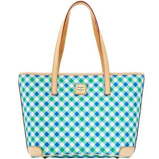 Dooney & Bourke Elsie Collection Charleston (Introduced by Dooney & Bourke at $228 in Apr 2016) - Blue Green