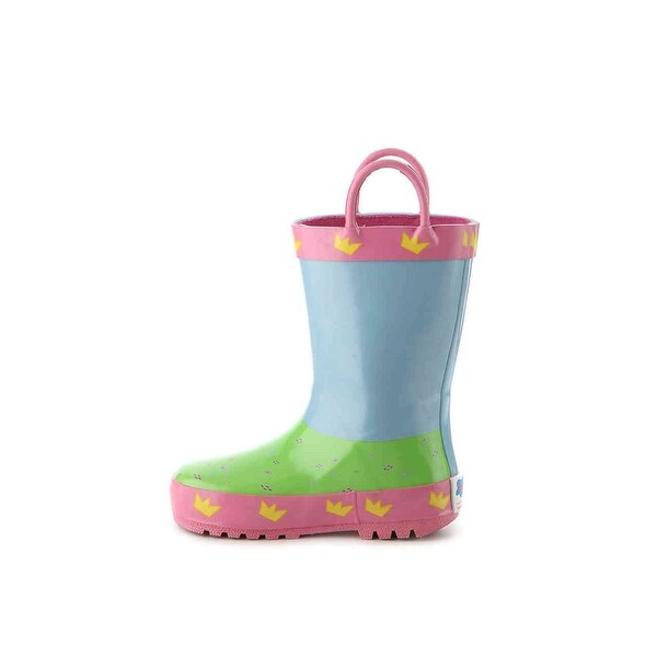 279a7cd7aaa Shop Peppa pig Girls PAXT448-DW Ankle Pull On Rain Boots - Ships To ...
