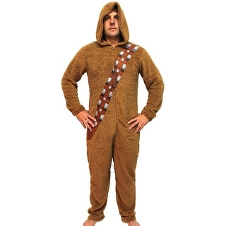 Star Wars Chewbacca Wookiee Adult Hooded Costume Union Suit