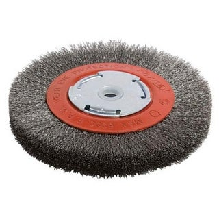 """Forney 72751 Brush Crimped, Narrow Face 6"""" Fine"""