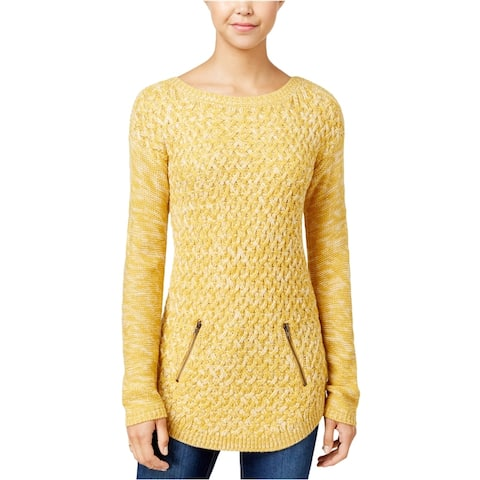Hooked Up By Iot Womens Pullover Knit Sweater