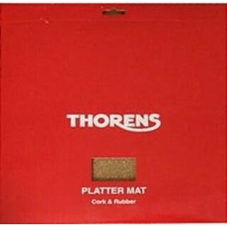 Thorens Platter Mat - Cork & Rubber