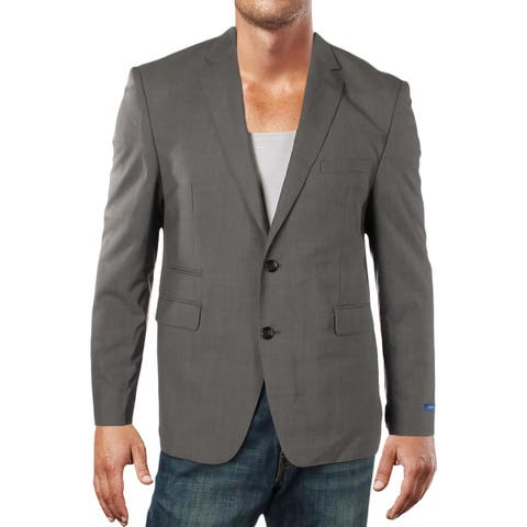 Vince Camuto Mens Two-Button Blazer Wool Slim Fit - 42S