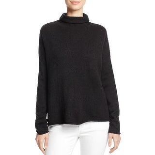 French Connection Womens Flossie Turtleneck Sweater Turtleneck Knit