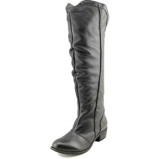 Matisse Fairlane Round Toe Leather Knee High Boot