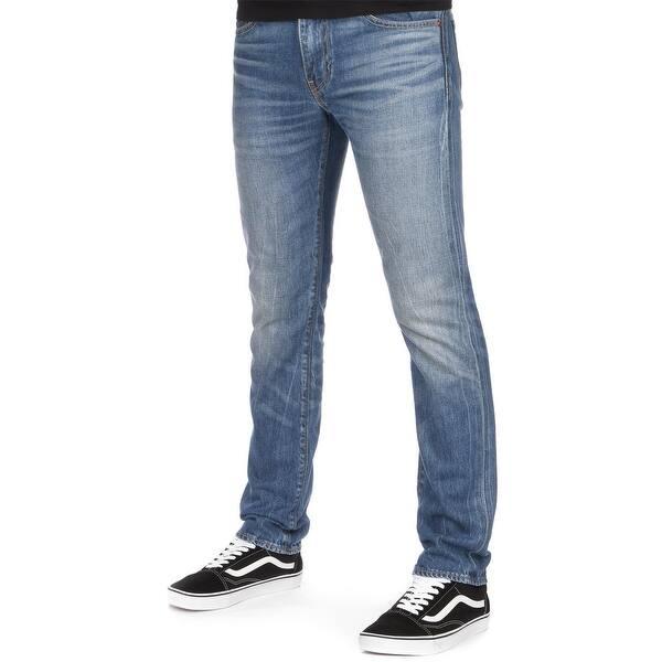 afebf2d9 Shop Levi's 511 Men's Slim Skinny Selvedge Jeans 32x32 Fender Blue - Free  Shipping Today - Overstock - 23581825