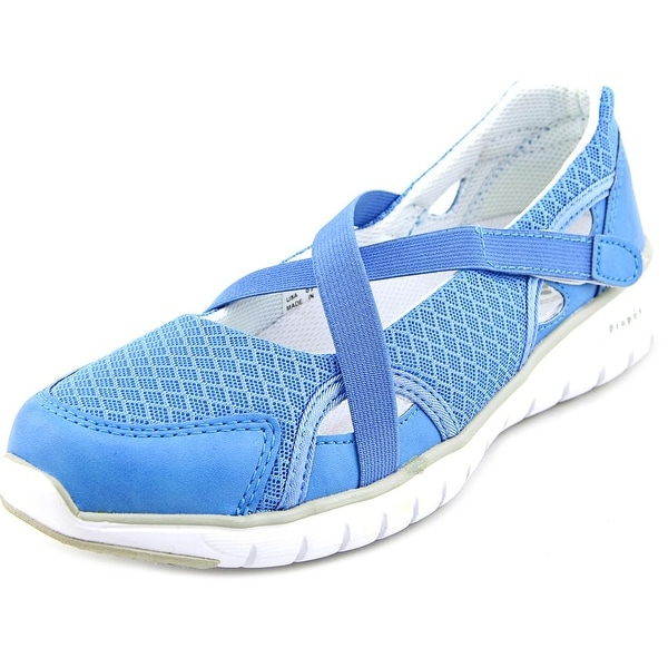Propet Travellite Mary Jane Women N/S Round Toe Synthetic Blue Mary Janes