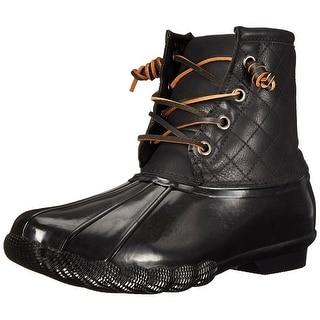 Steve Madden Womens Tillis Closed Toe Ankle Rainboots