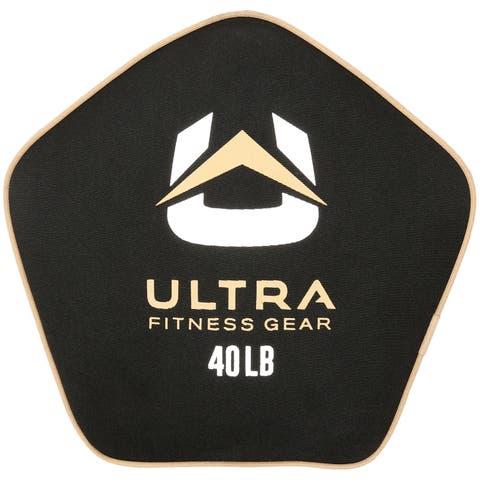 Ultra Fitness Gear Tough Neoprene Pancake Sandbag (Unfilled), 40 lbs