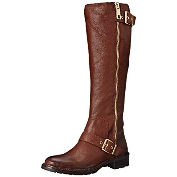 BCBGeneration Womens Shayna Riding Boots Leather Belted