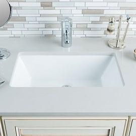"Miseno MNO2113RU Rectangular 18-1/2"" Undermount Bathroom Sink"
