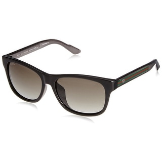 GG3735 F/S Unisex Sunglasses - Black