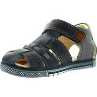 Primigi Boys Jog Leather Closed Toe Fisherman Casual Sandals