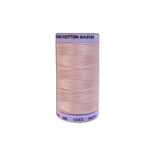 9104 1063 Mettler Silk Finish Cotton 50 547yd Tea Rose