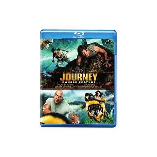 JOURNEY TO CENTER OF EARTH/JOURNEY 2-MYSTERIOUS ISLAND (BLU-RAY/DBFE)