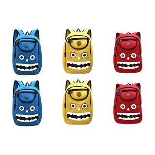 Kiddi Choice Nohoo Car Neoprene Monster Backpack (Option: Red)