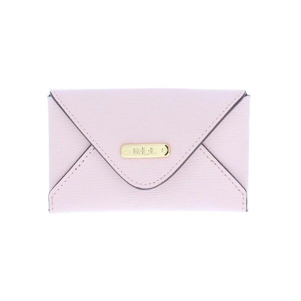 the latest 22909 8ff79 Lauren Ralph Lauren Womens Newbury Envelope Wallet Leather Mini - o/s