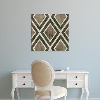 Easy Art Prints June Erica Vess's 'Driftwood Geometry II' Premium Canvas Art