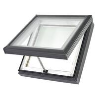 """Velux VCM 2222 2004 27-3/8"""" x 27-3/8"""" Laminated Manual Venting Curb Mounted No Leak Skylight from the VCM Collection - n/a - n/a"""