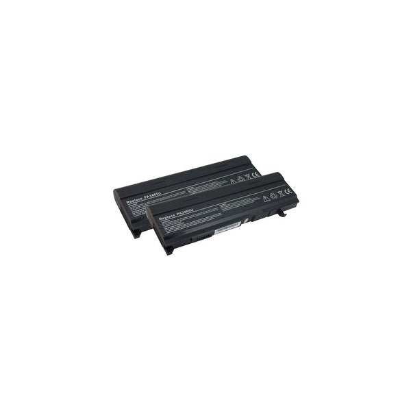 Battery for Toshiba PA3465U (2-Pack) Laptop Battery