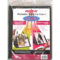 Prop-It 2-In-1 Portable Tabletop Easel-