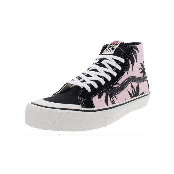 115e8eba6d Shop Vans Mens SK8-Hi 138 Decon High Top Sneakers Printed Lace-Up - Free  Shipping Today - Overstock - 27945760