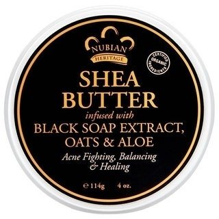Nubian Heritage Shea Butter African Black 4-ounce