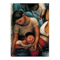 ''La Noche de los Pobres'' by Diego Rivera Museum Art Print (31.5 x 23.5 in.)