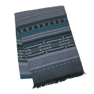 CTM® Women's Tribal Pattern Blanket Scarf - One size