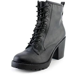 Zigi Soho Kourtlan Women  Round Toe Leather Black Ankle Boot