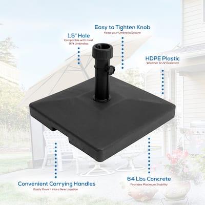 Heming 64 lb. Concrete Umbrella Base