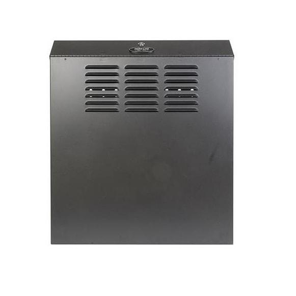 Tripp Lite Case Srwf5u 5U Wall Mount Low Profile Secure Rack Enclosure Cabinet Vertical Brown Box