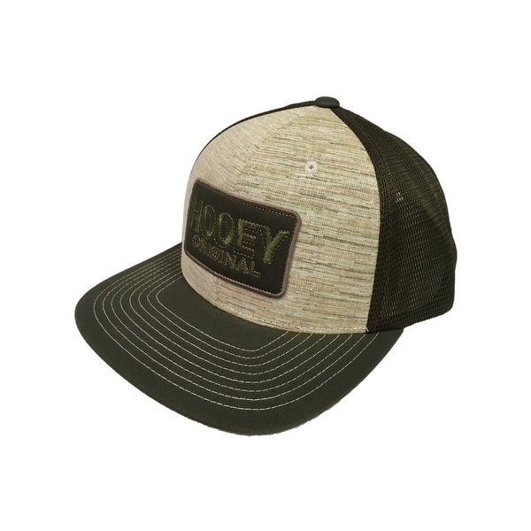 bf155091cc330 Shop HOOey Hat Mens Trucker HOOey Original Snapback O S Brown Green - Free  Shipping On Orders Over  45 - Overstock - 18216147