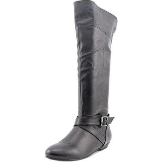 Chinese Laundry Newbie Women  Round Toe Leather  Knee High Boot