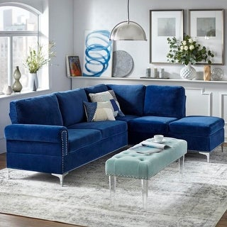 Link to Simple Living Orinda Sectional Sofa Similar Items in Living Room Furniture