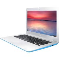 "Manufacturer Refurbished - Asus C300SA-DS02-LB 13.3"" Laptop Intel Celeron N3060 1.6GHz 4GB 16GB Chrome OS"