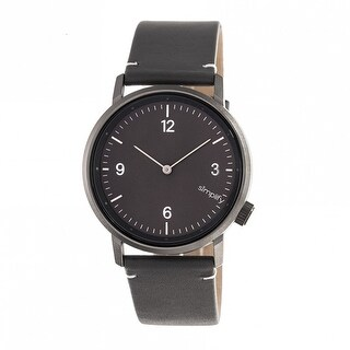 Simplify The 5500 Unisex Quartz Watch, Genuine Leather Band