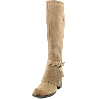 Fergie Total Women Round Toe Suede Knee High Boot