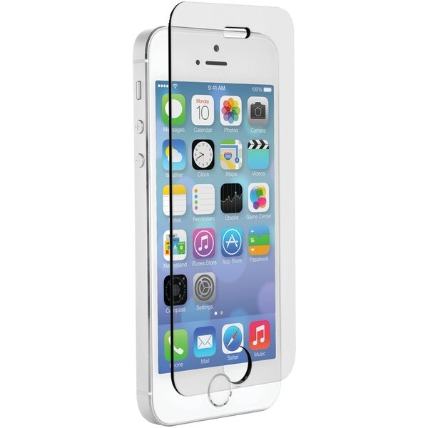 Znitro 700358626395 Iphone(R) 5/5S/5C Nitro Glass Screen Protector (Clear; Case Friendly)