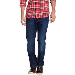 7 For All Mankind Mens Standard Straight Leg Jeans 31 Hamilton H