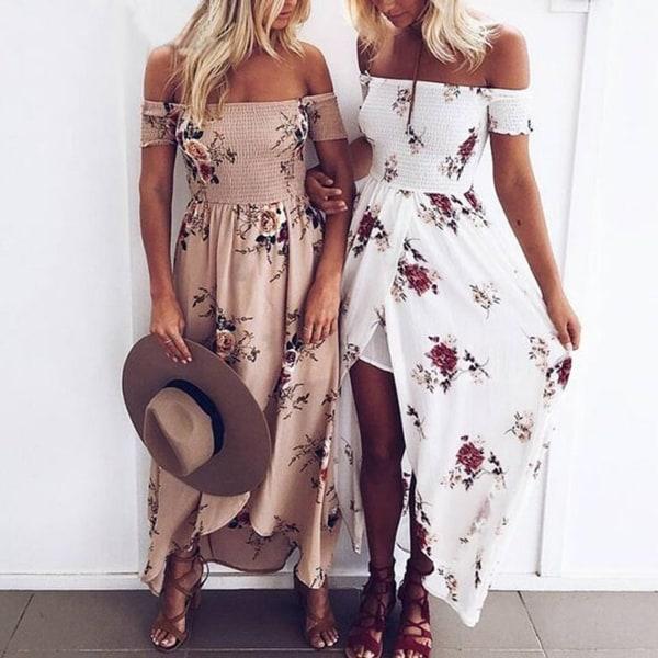 c4f4fec5df7f1 Shop Bohemian Summer Beach Dress In Floral - On Sale - Free Shipping ...