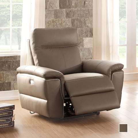 Southgate Leather Power Recliner with USB port