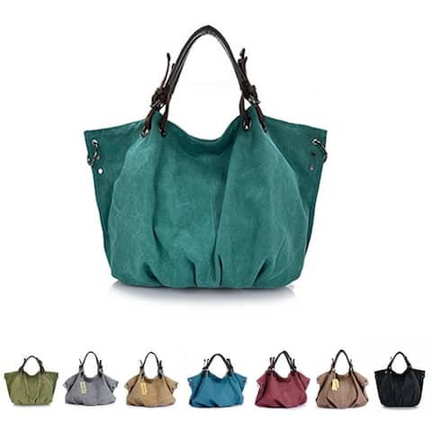 Journey Collection Canvas Handbag In 8 Colors