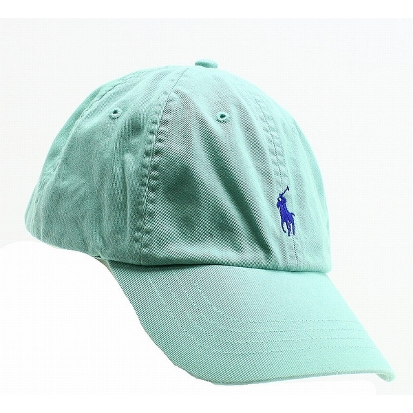 b0c06a32375 Shop Polo Ralph Lauren Offshore Green Men s Size Adjustable Baseball Cap -  Free Shipping On Orders Over  45 - Overstock.com - 22385667