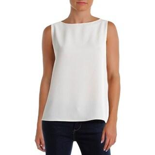 Polo Ralph Lauren Womens Blouse Back Slit Sleeveless